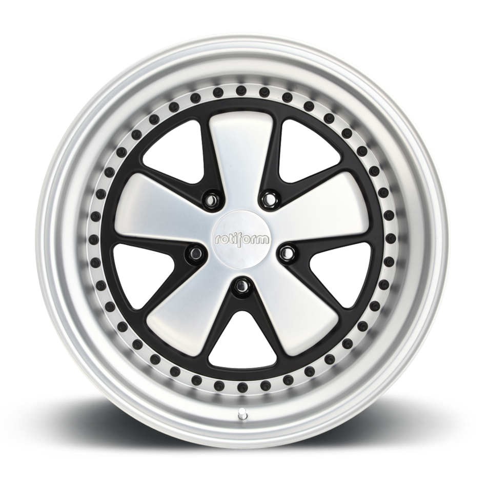 Rotiform FUC Forged Custom Matte Polished Face and Lip Finish Wheels