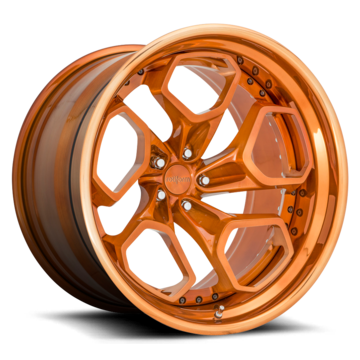 Rotiform HUR-T Forged Custom Brushed Candy Copper Finish Wheels