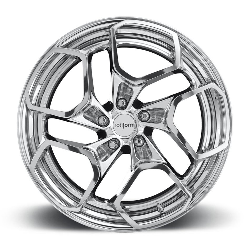 Rotiform HUR-T Forged Custom Polished Finish Wheels