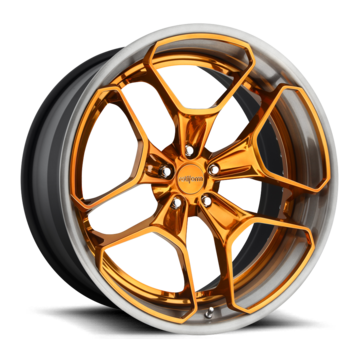 Rotiform HUR Forged Custom Trans Copper Finish Wheels