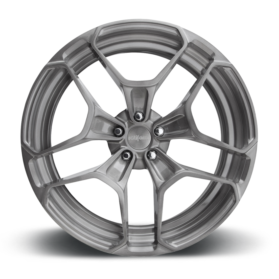 Rotiform HUR Forged Custom Brushed DDT Finish Wheels