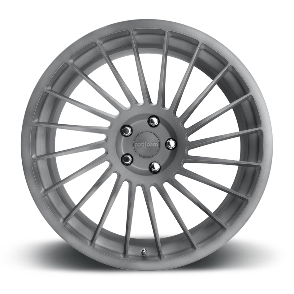 Rotiform IND-T Forged Custom Matte Anthracite Finish Wheels