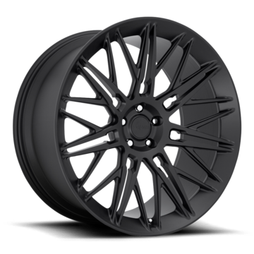 Rotiform JDR Forged Custom Matte Black Finish Wheels
