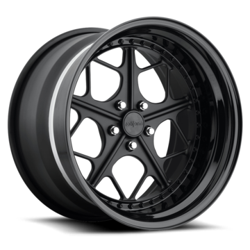 Rotiform LGB Forged Custom Matte Black Finish Wheels
