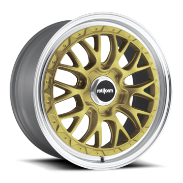 Rotiform LSR Gold and Machined Finish Wheels