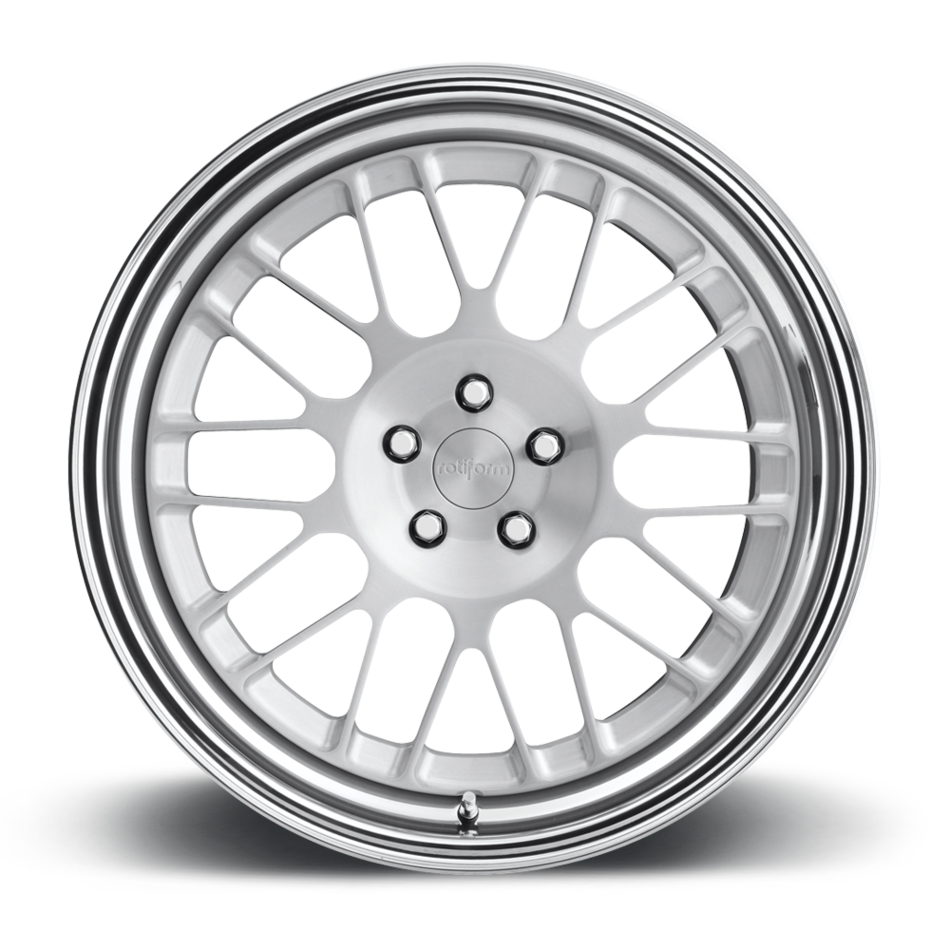 Rotiform LVS Forged Custom Brushed Face with Polished Lip Finish Wheels