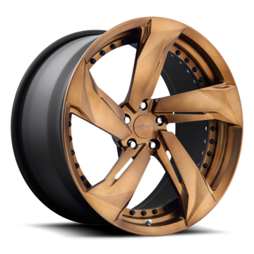 Rotiform MUC Forged Custom Matte Clear Brown Finish Wheels