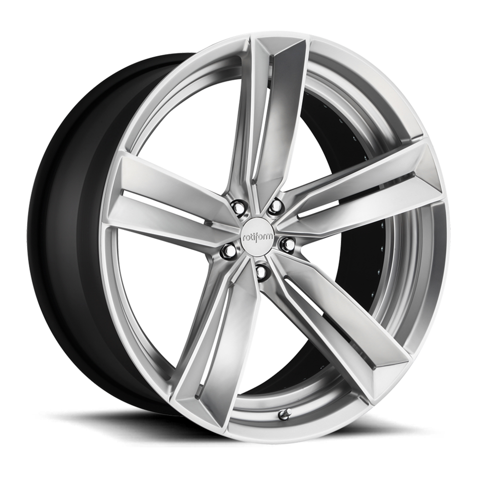 Rotiform OXR Forged Custom Matte Ceramic Silver Finish Wheels