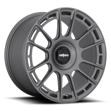 Rotiform OZR Forged Custom Matte Anthracite Finish Wheels