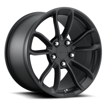 Rotiform PGT Forged Custom Matte Black Finish Wheels