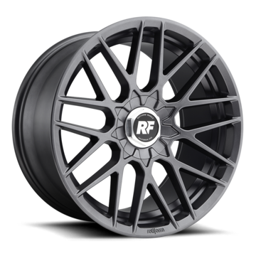 Rotiform RSE Matte Anthracite Finish Wheels