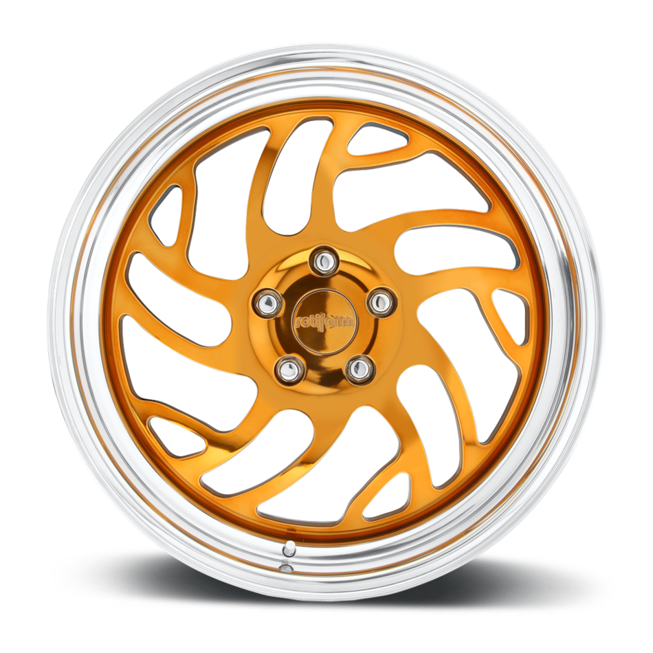 Rotiform SEA Forged Custom Hi Luster Candy Bronze Face with Polished Lip Finish Wheels