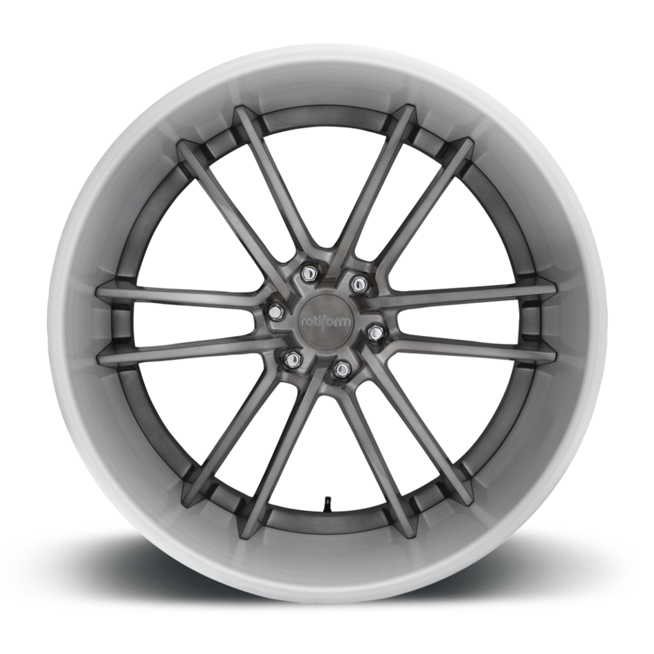 Rotiform SFO Forged Custom Brushed Gloss DDT Face with Clear Brushed Face Finish Wheels