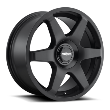 Rotiform SIX Matte Black Finish Wheels
