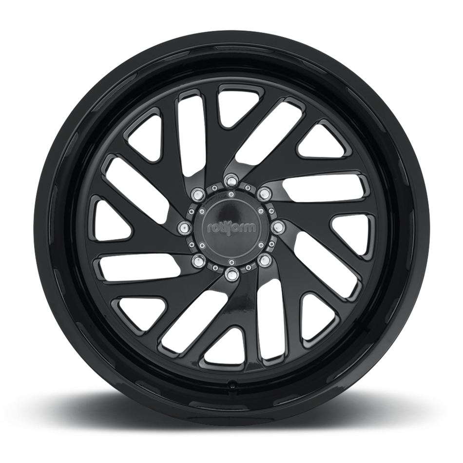 Rotiform SNA-T-OR Forged Custom Gloss Black and Candy Black Finish Wheels