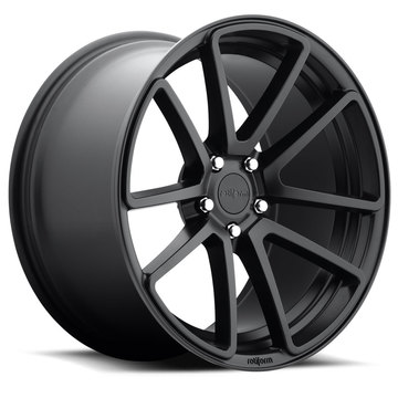 Rotiform SPF Matte Black Finish Wheels