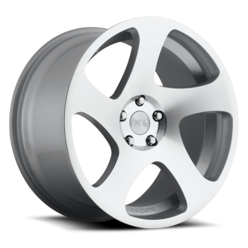 Rotiform TMB Silver and Machined Finish Wheels