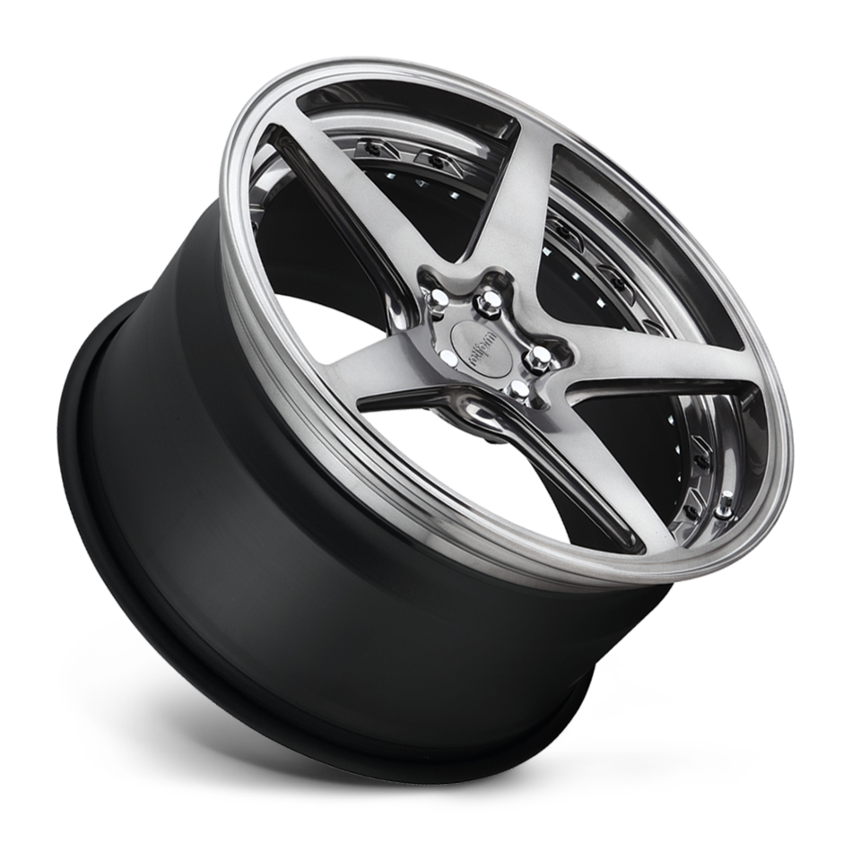Rotiform WGR Forged Custom Full Candy Black with Black Hardware Finish Wheels