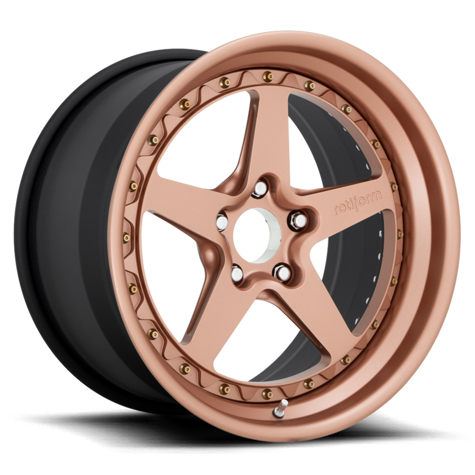 Rotiform WGR Forged Custom Fireside Copper Finish Wheels