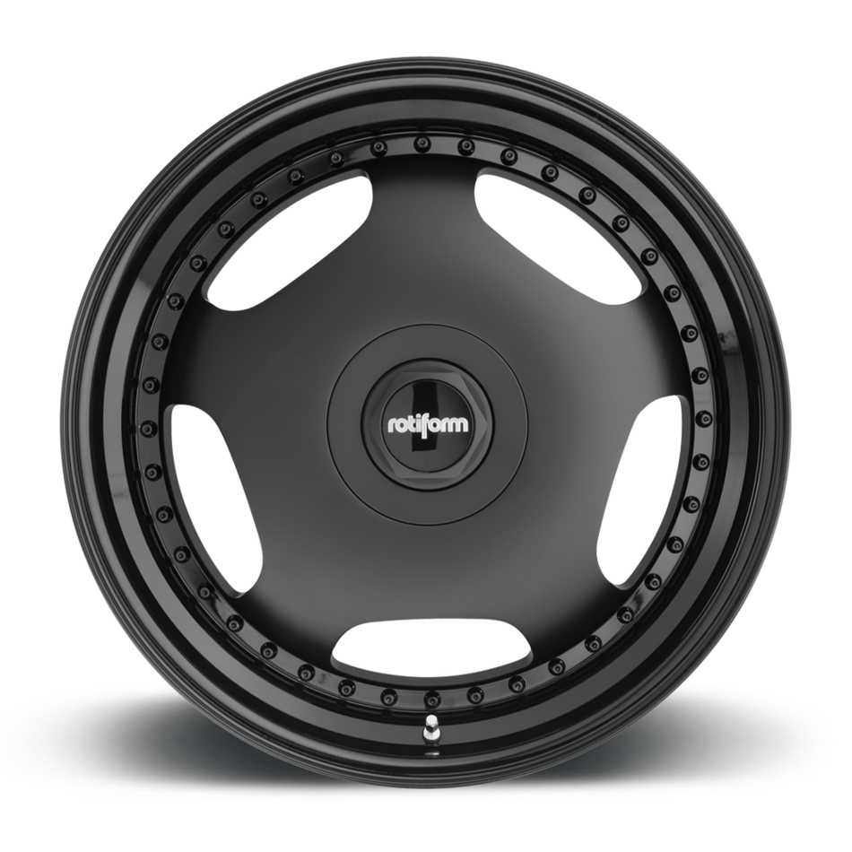 Rotiform WLD Forged Custom Matte Black Finish Wheels