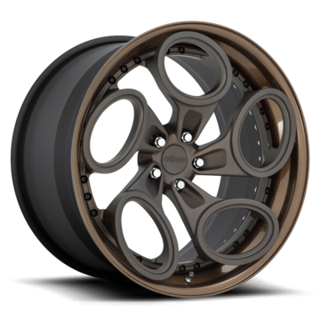 Rotiform ZRH-T Forged Custom Matte Death Bronze Finish Wheels