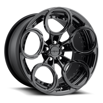Rotiform ZRH Forged Custom Full Gloss Black Finish Wheels