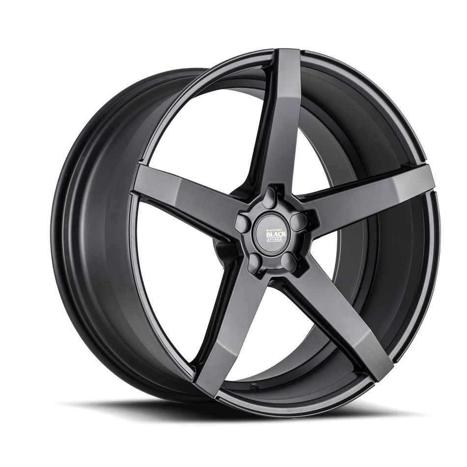 Savini Black di Forza BM11 Wheels - Matte Black Finish