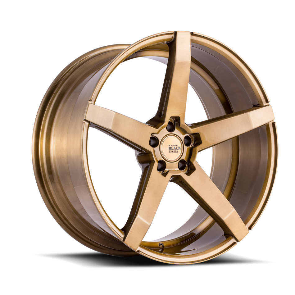 Savini Black di Forza BM11 Wheels - Brushed Bronze Custom Finish