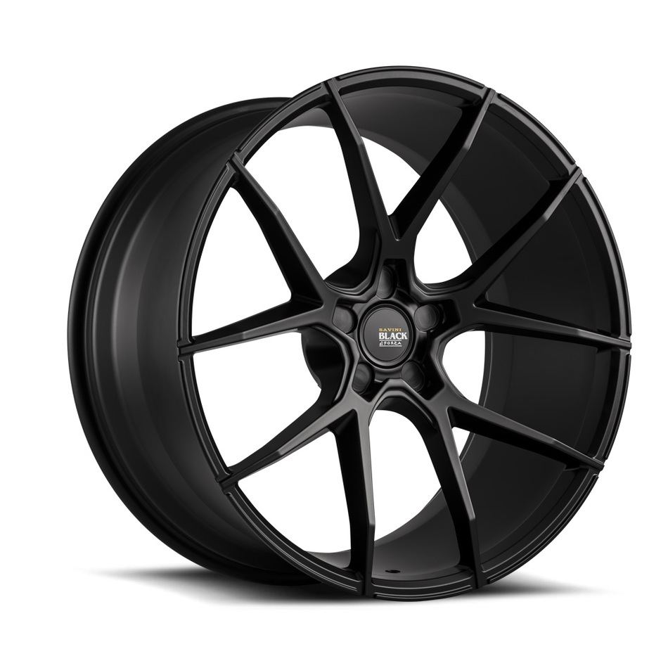 Savini Black di Forza BM14 Wheels - Matte Black Finish