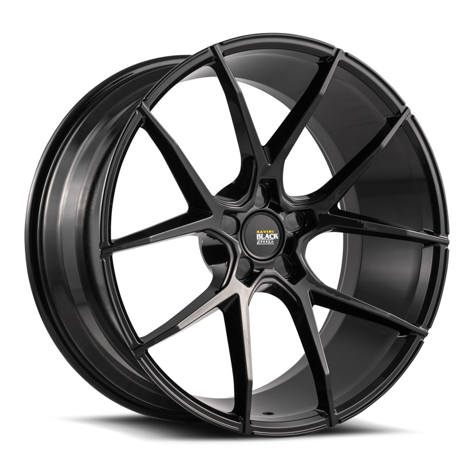 Savini Black di Forza BM14 Wheels - Gloss Black Finish