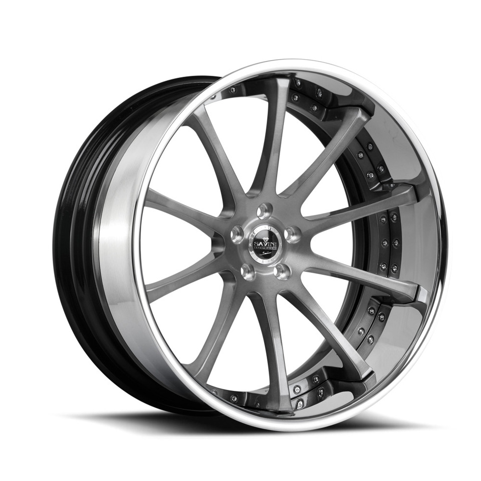 Savini Forged SV26c Chrome XC Wheels
