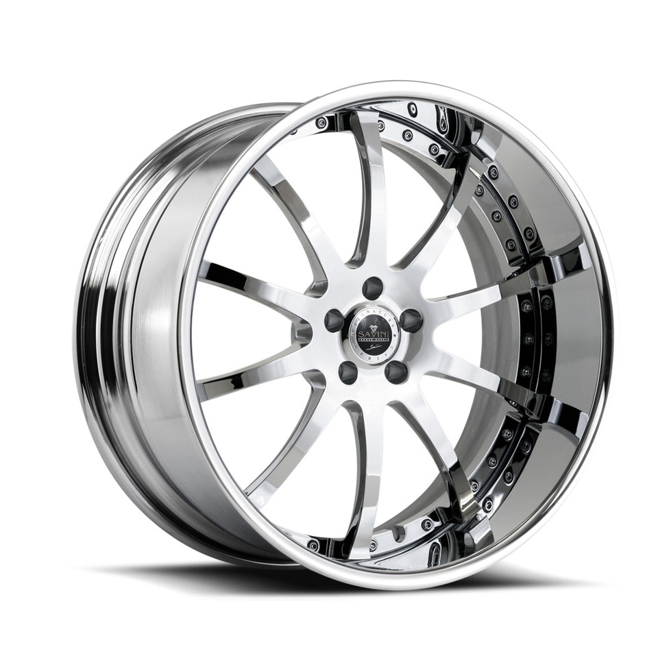 Savini Forged SV26s Chrome XLT Wheels