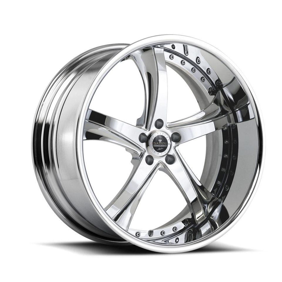 Savini Forged SV29s Chrome XLT Wheels