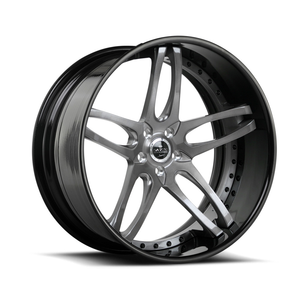 Savini Forged SV2c Brushed Anodized XC Wheels