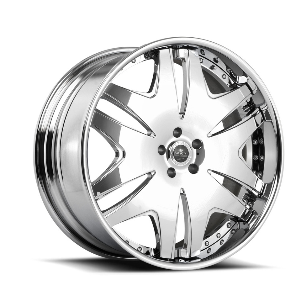 Savini Forged SV36s Chrome XLT Wheels