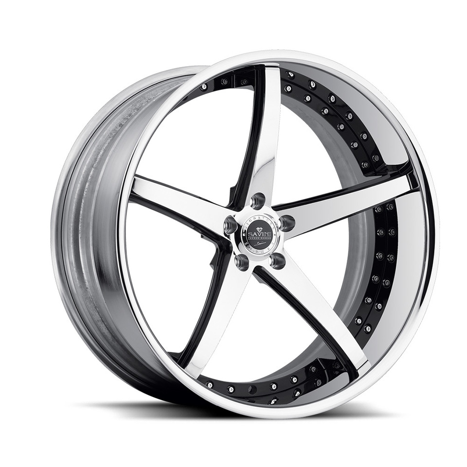 Savini Forged SV44c Chrome XC Wheels
