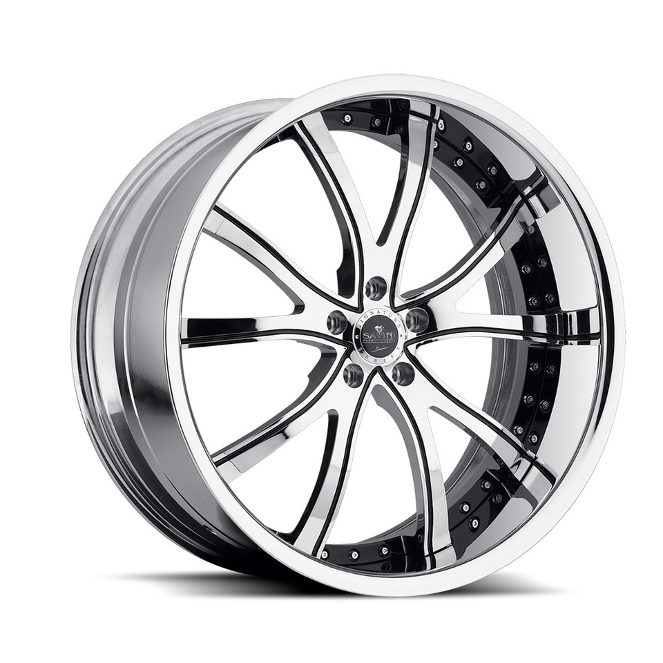 Savini Forged SV46s Chrome XLT Wheels
