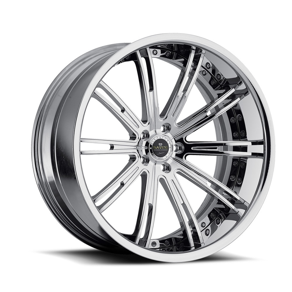 Savini Forged SV47c Chrome XC Wheels