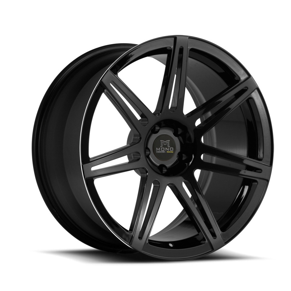 Savini Forged SV48m Black Mono Wheels