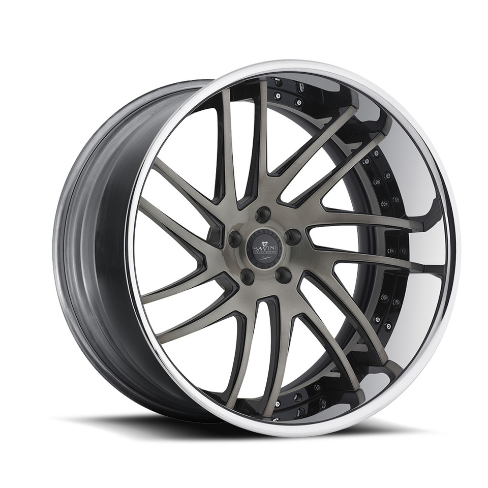 Savini Forged SV49c Grey Chrome XC Wheels