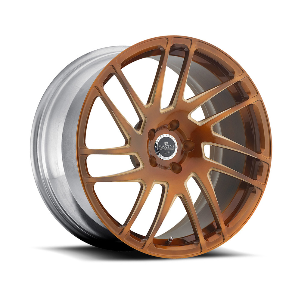 Savini Forged SV49m Bronze Mono Wheels
