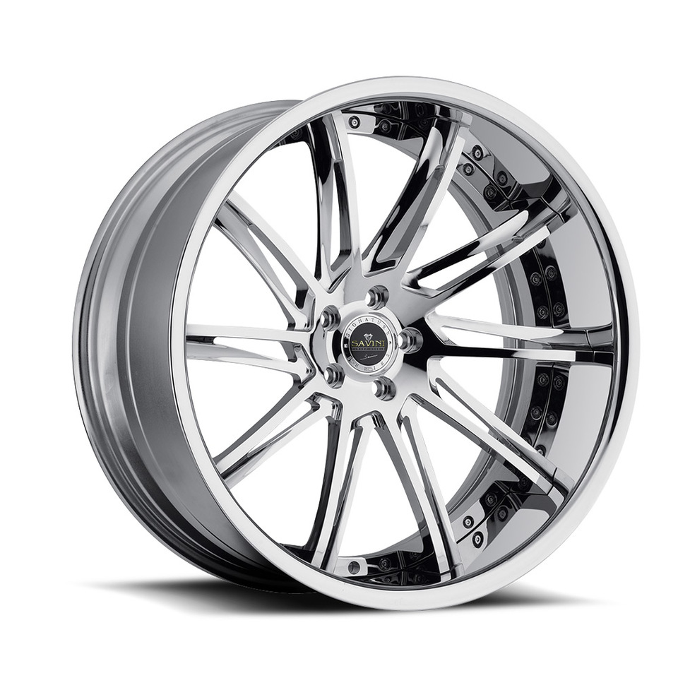 Savini Forged SV50c Chrome XC Wheels