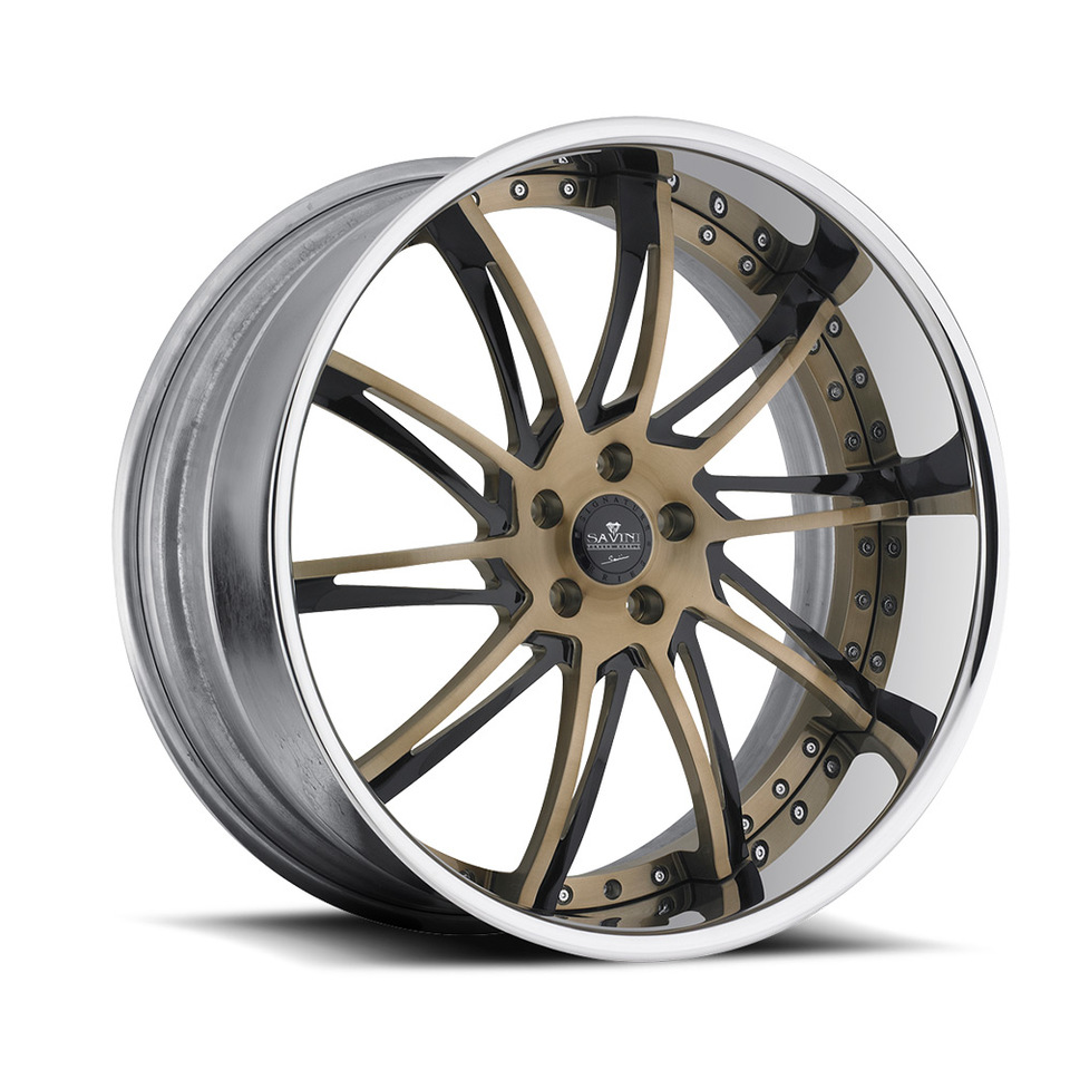 Savini Forged SV50c Custom Chrome XLT Wheels