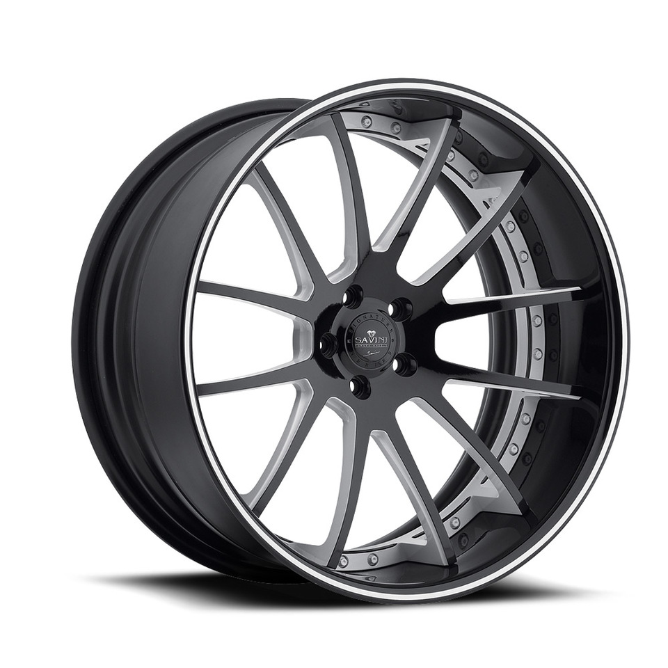Savini Forged SV55c Grey Chrome XC Wheels
