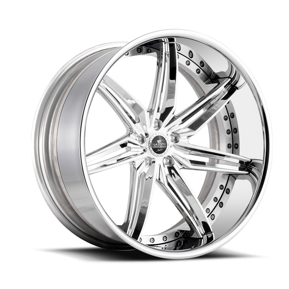 Savini Forged SV58 Wheels - High Polish Finish