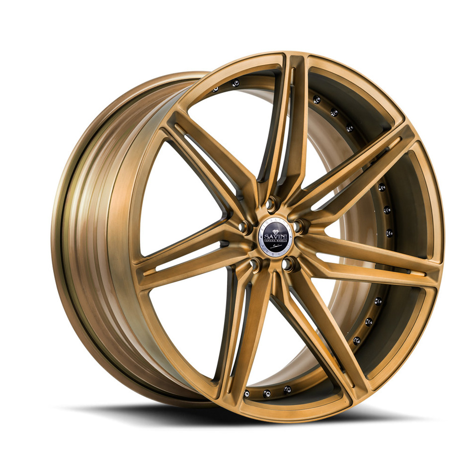 Savini Forged SV58 Wheels - Brushed Bronze Finish
