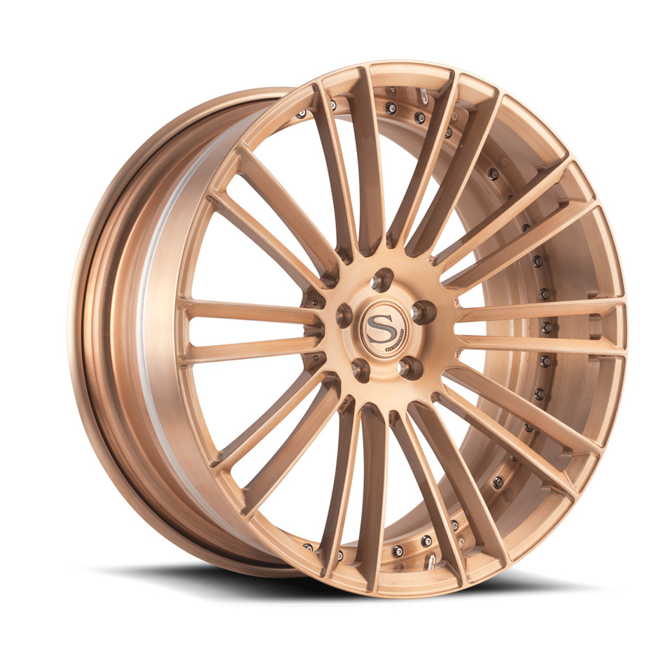 Savini Forged SV66 Brushed Rose Gold Finish Wheels