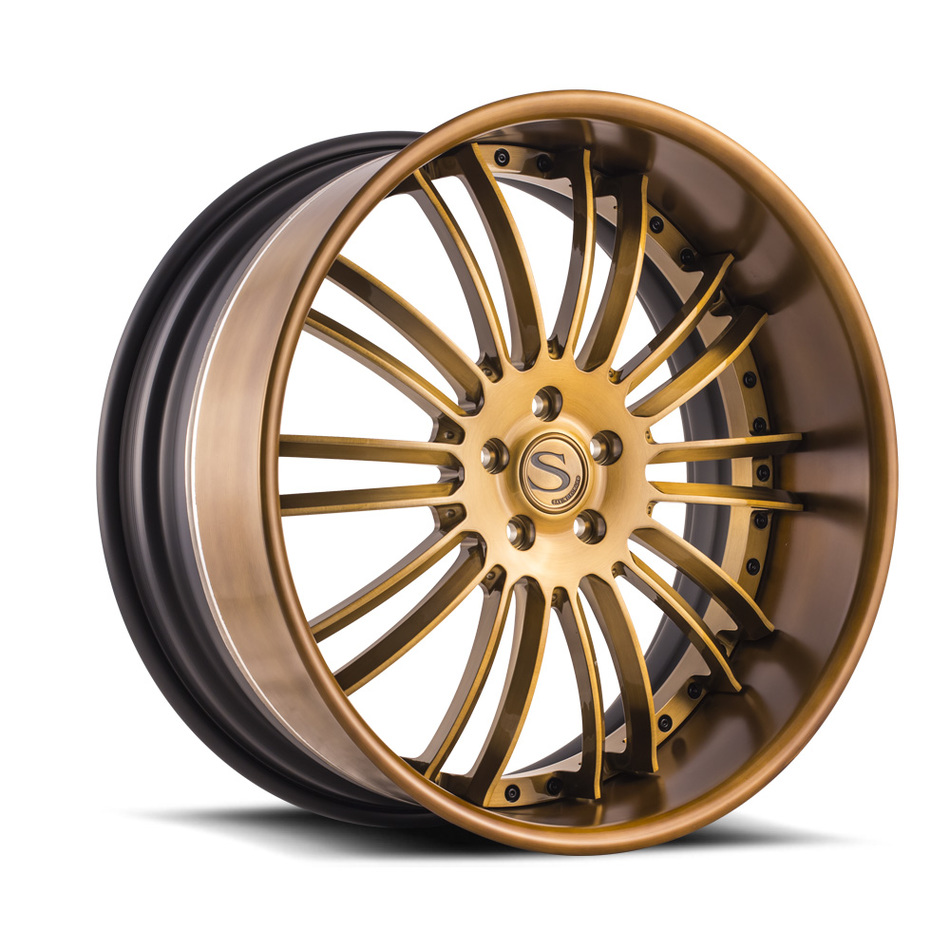 Savini Forged SV66 Brushed Copper Finish Wheels