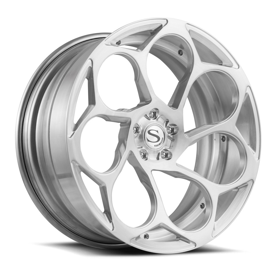 Savini Forged SV69 Wheels Brushed Finish