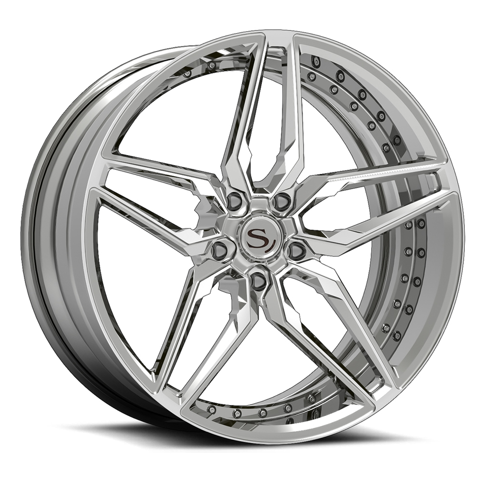 Savini Forged SV82 Wheels Custom Finish